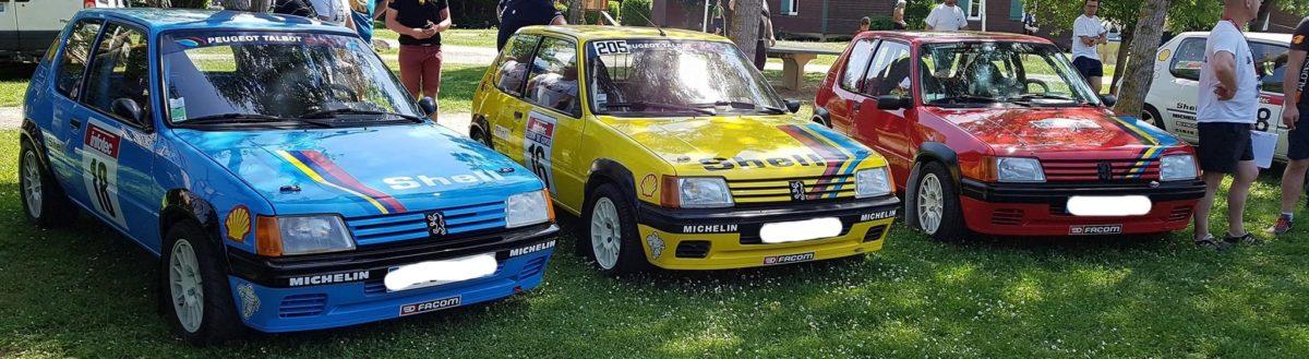 205 Rallye Club de France